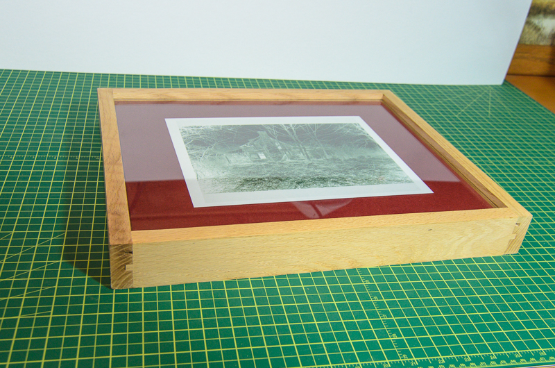 split back contact frames for alternative photography processes